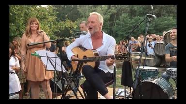 Sting tocando en La Toscana