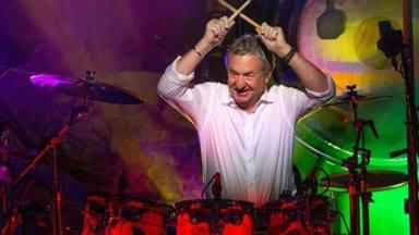Así fue la esperada visita del legendario Nick Mason, de Pink Floyd, en RockFM Motel
