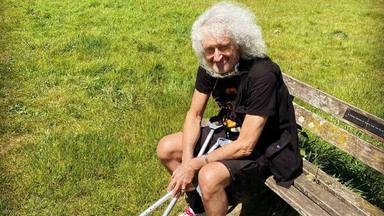 """La lesión de Brian May era más grave de lo que se pensaba: """"Estaba viviendo una pesadilla"""""""