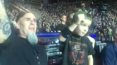 Scott Ian (Anthrax) recuerda la entrañable reacción de su hijo en un concierto de Iron Maiden