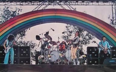 California Jam - Black Sabbath durante su concierto (1974)
