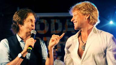 """Jon Bon Jovi le ha puesto """"mote"""" a Paul McCartney"""
