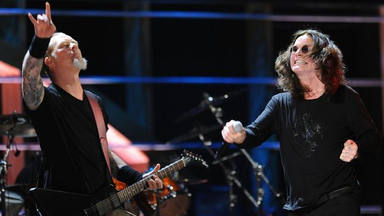 James Hetfield y Ozzy Osbourne