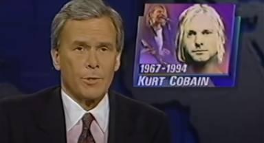 Así anunciaron los telediarios las muertes de Kurt Cobain, Elvis o John Lennon