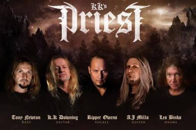 """Los """"otros"""" Judas Priest, con K.K. Downing y Tim """"Ripper"""" Owens, anuncian su primer disco"""