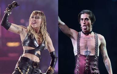 Así ha reaccionado Miley Cyrus después de que Måneskin, ganadores de Eurovisión, hayan tocado un tema suyo