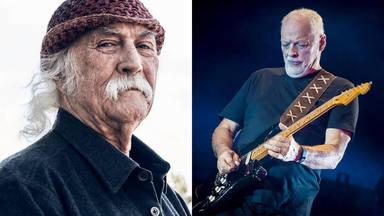 """David Crosby (The Byrds) revela lo que piensa sobre David Gilmour (Pink Floyd): """"Se merece todos mis respetos"""""""