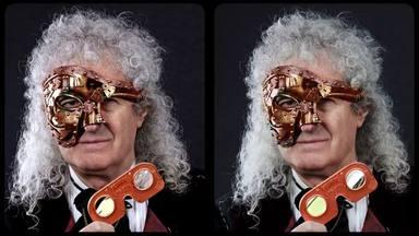 """Brian May (Queen) se pasa al """"steampunk"""" para anunciar la salida de su último invento"""