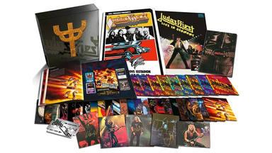 La colección más completa de la historia de Judas Priest tiene... ¡42 discos!
