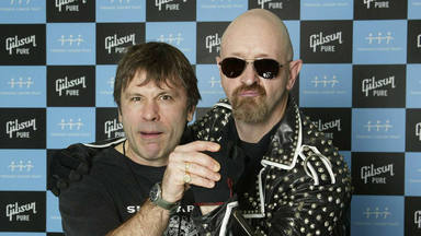 Rob Halford (Judas Priest) y Bruce Dickinson (Iron Maiden) juntos