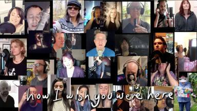 """La imponente versión solidaria de """"Wish You Were Here"""" grabada por más de 100 músicos"""