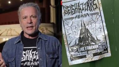 """¿Qué es """"Belshazzar's Feast""""? La historia detrás del anuncio que ha preparado Iron Maiden"""