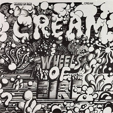Portada del tercer álbum de estudio de Cream