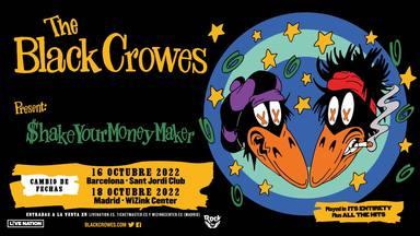 The Black Crowes vuelven a posponer su paso por España: estas son sus nuevas fechas