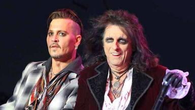 Alice Cooper lo deja claro, el único actor capaz de interpretarle sería Johnny Depp