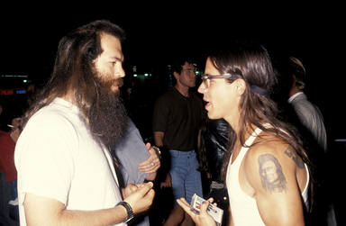Rick Rubin con Anthony Kiedis