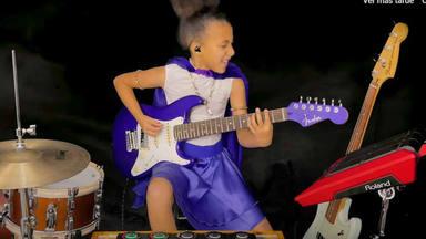 La niña prodigio de 11 años Nandi Bushell vuelve a revolucionar Internet tocando Led Zeppelin