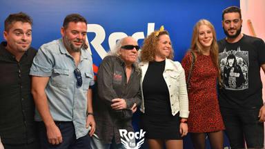 Así lució el equipo de RockFM durante la presentación de temporada