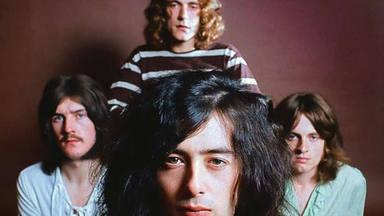 Imagen de Led Zeppelin en los sesenta.