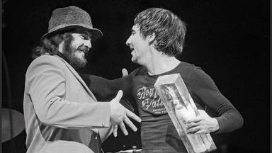 John Bonham (Led Zeppelin) y Keith Moon (The Who)
