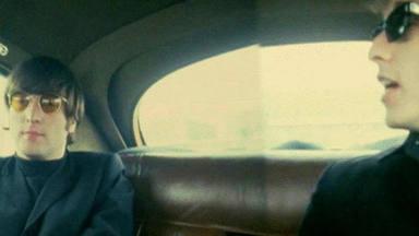 Lennon y Dylan en 1966