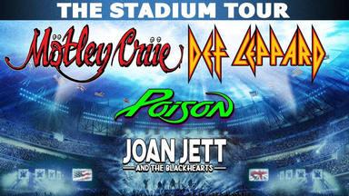 The Stadium Tour: Mötley Crüe, Def Leppard, Poison y Joan Jett