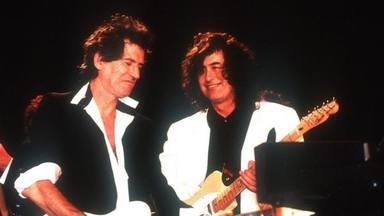 "Jimmy Page (Led Zeppelin) y Keith Richards (Rolling Stones) se ""rompen la cabeza"" recordando ""Scarlet"""