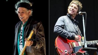"""Keith Richards (The Rolling Stones) y Noel Gallagher (Oasis) comparan cuál de sus cantantes era """"más capullo"""""""