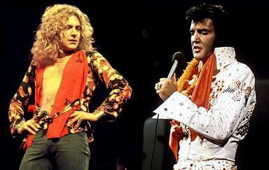 Robert Plant y Elvis